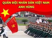 Hướng dẫn tuyên truyền Kỷ niệm 30 năm Ngày hội quốc phòng toàn dân (22/12/1989 – 22/12/2019) và 75 năm Ngày thành lập Quân đội nhân dân Việt Nam (22/12/1944 – 22/12/2019)